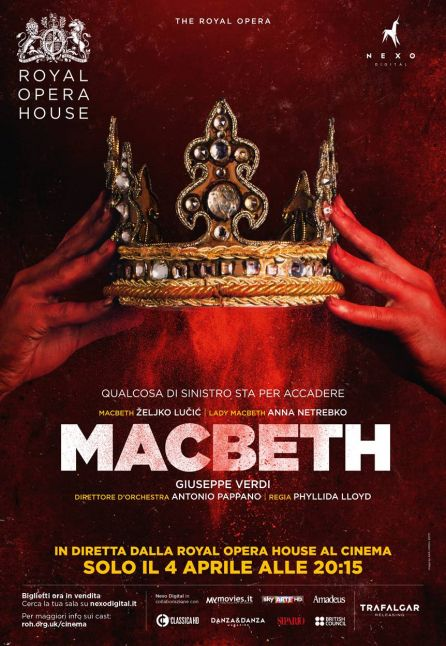 MACBETH - IN DIRETTA DAL ROYAL OPERA HOUSE 2017/2018
