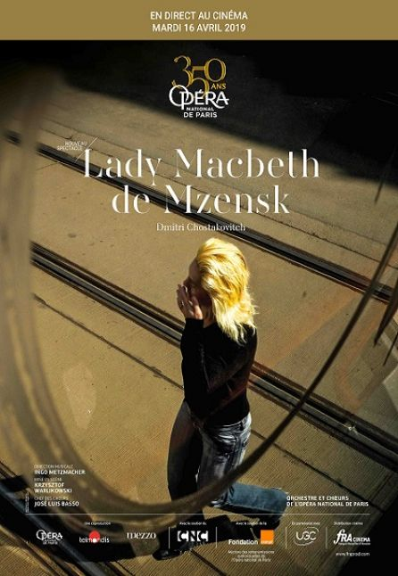 LADY MACBETH DEL DISTRETTO DI MCENSK - OPE``RA DE PARIS 2018/2019
