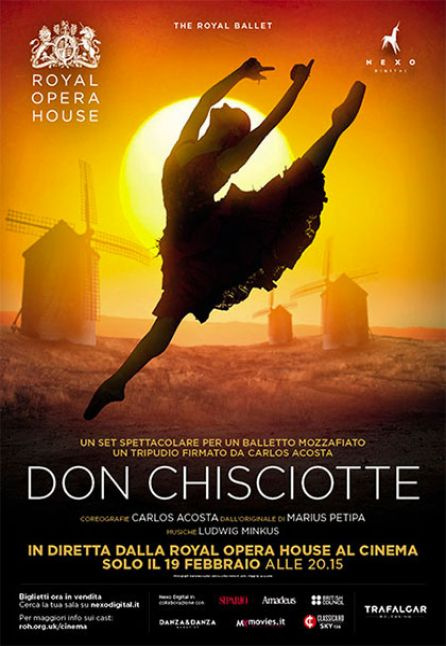 DON CHISCIOTTE - DAL ROYAL OPERA HOUSE 2018/2019