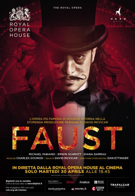 FAUST - DAL ROYAL OPERA HOUSE 2018/2019