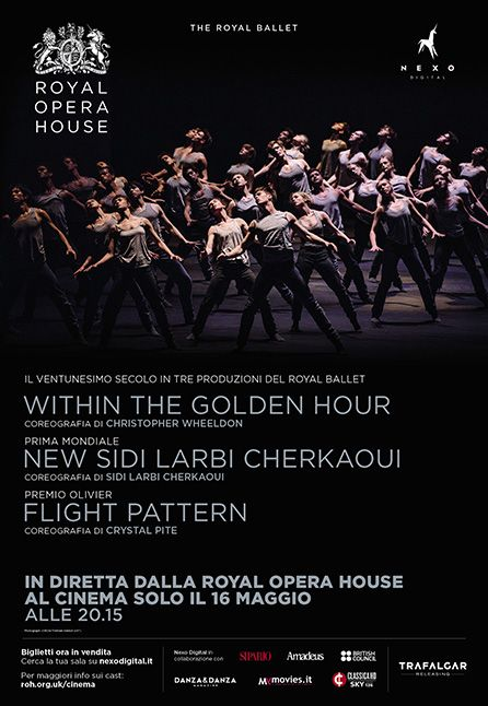PROGRAMMA TRIPLO: FLIGHT PATTERN, WITHIN THE GOLDEN HOUR, NEW WORK - DAL ROYAL OPERA HOUSE 2018/2019
